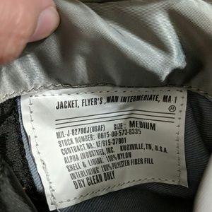 Alpha Industries Jackets & Coats - Men's medium NASA alpha industries bomber jacket
